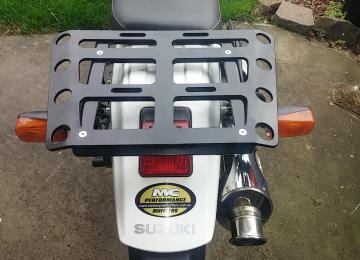 DR650 Rear Rack Image one